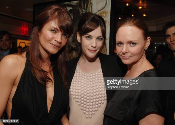 Helena Christensen Liv Tyler and Stella McCartney