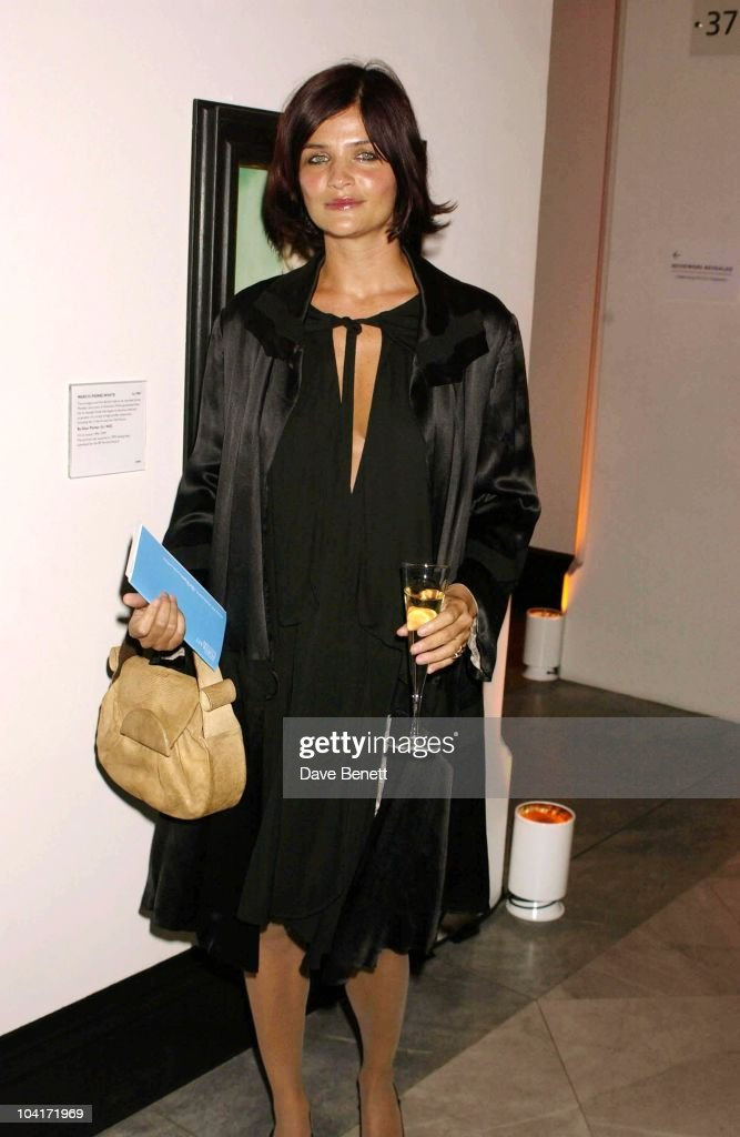 Helena Chritensen, Fashion Photographer Mario Testino Attracted All The Most Glamorous Women In London To His Exhibition At The National Portrait Gallery.