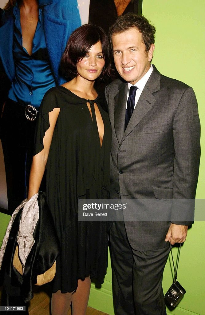Helena Chritensen With Mario Testino, Fashion Photographer Mario Testino Attracted All The Most Glamorous Women In London To His Exhibition At The National Portrait Gallery.