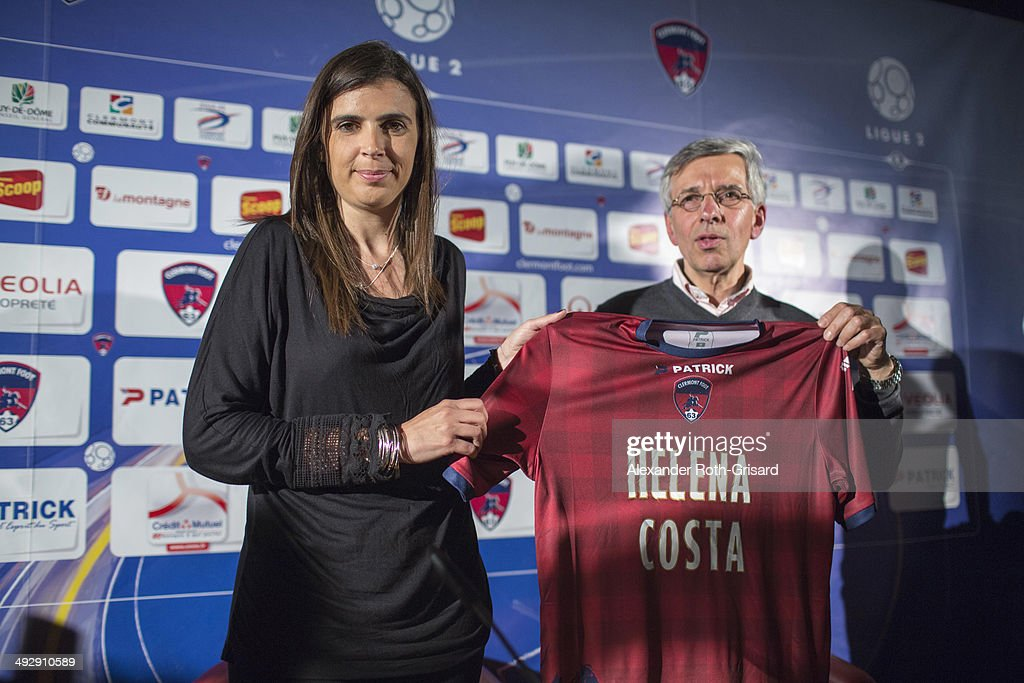 Helena Costa, First femalee Professional Team Manager At Clemont Foot 93 : News Photo