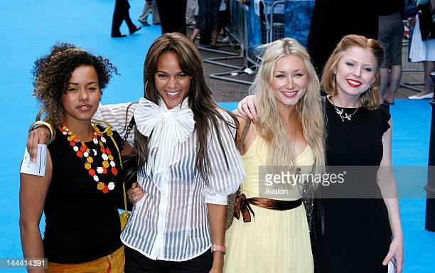 Helena Dowling Lauren Blake Hayley Wardle and Bryony Afferson arrives at the Lady in the Water European Premiere held at the VUE West End Cinema...