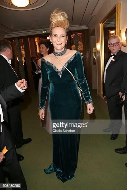 Helena Fuerst during the Opera Ball Vienna 2016 at Vienna State Opera on February 4 2016 in Vienna Austria