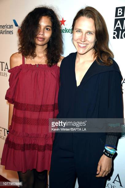 Helena Howard and Josephine Decker attends The BAFTA Los Angeles Tea Party at Four Seasons Hotel Los Angeles at Beverly Hills on January 5 2019 in...