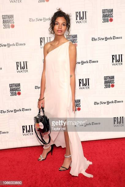 Helena Howard attends the 2018 Gotham Awards at Cipriani Wall Street on November 26 2018 in New York City