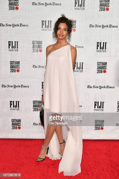 Helena Howard attends the 2018 IFP Gotham Awards at Cipriani Wall Street on November 26 2018 in New York City