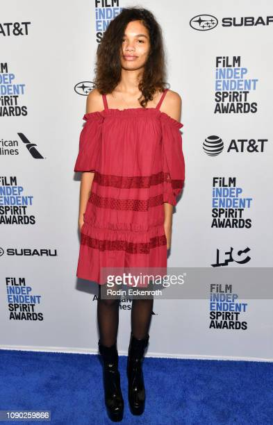 Helena Howard attends the 2019 Film Independent Spirit Awards Nominee Brunch at BOA Steakhouse on January 05 2019 in West Hollywood California