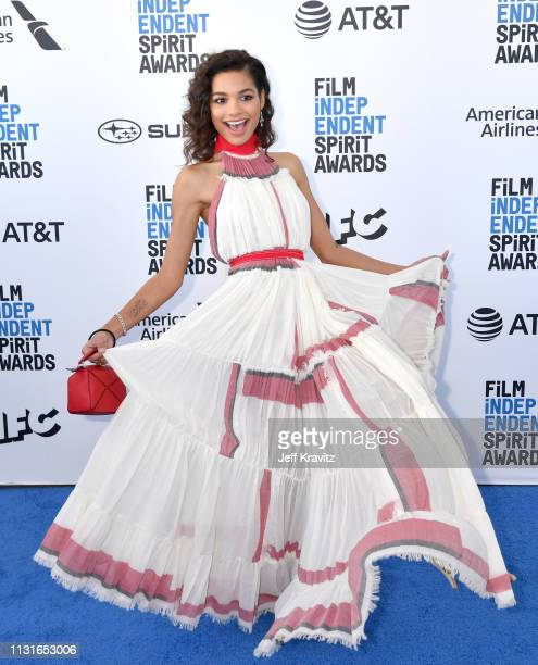 Helena Howard attends the 2019 Film Independent Spirit Awards on February 23 2019 in Santa Monica California