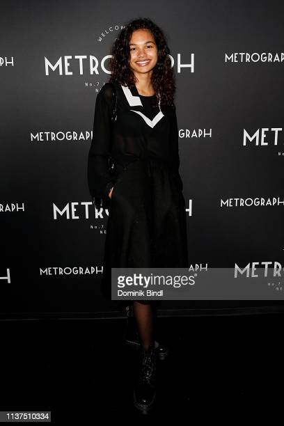 Helena Howard attends the Metrograph 3rd Anniversary Party at Metrograph on March 21 2019 in New York City