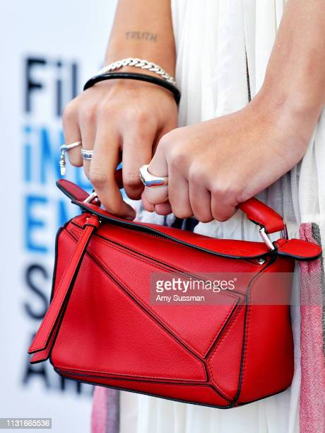 Helena Howard purse detail attends the 2019 Film Independent Spirit Awards on February 23 2019 in Santa Monica California