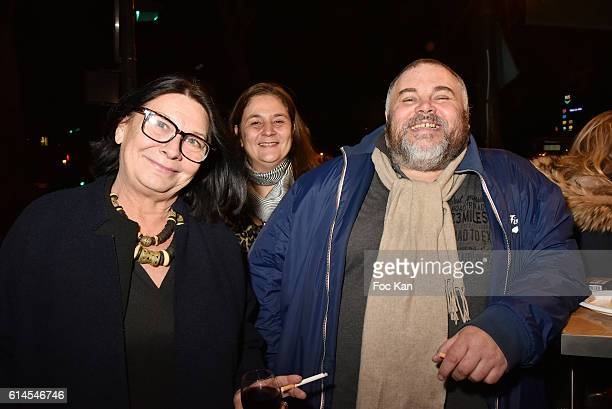 Helena ichbiah from ichkar Sophie Lecourt cultural Counselor and Olivier Malnuit Editor from Grands Seigneurs magazine attend Apero Milk Hosted by...