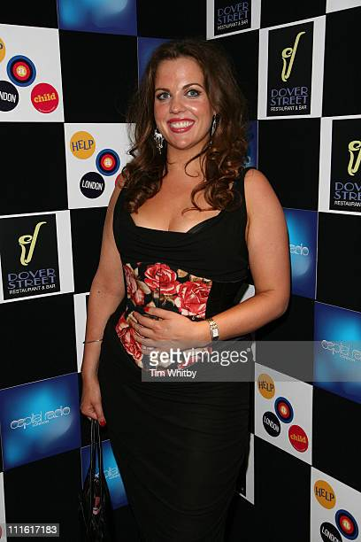 Helena Jessie during Capital Radio -Help A London Child Charity Night at Dover Street in London, Great Britain.