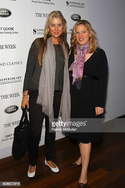 Helena Khazanova and Abby Weisman attend GRAND CLASSICS hosted by Willem Dafoe Giada Colagrande sponsored by Superior Ink and Land Rover presented by...