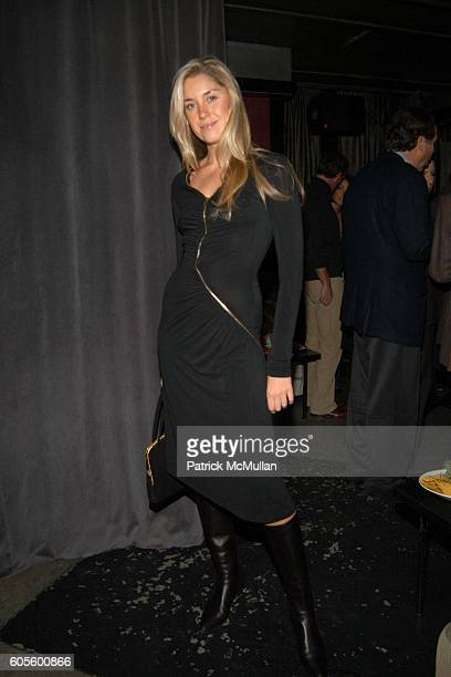 Helena Khazanova attends Valentine's Day Cocktail Party hosted by Abby Weisman and Robin Navrozov at Serena's on February 14 2006 in New York City