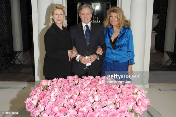 Helena Lehane Geoffrey Bradfield and Lisa Price attend Geoffrey Bradfield's Reception for HRH The Prince Edward and the Duke of Edinburgh's Awards at...