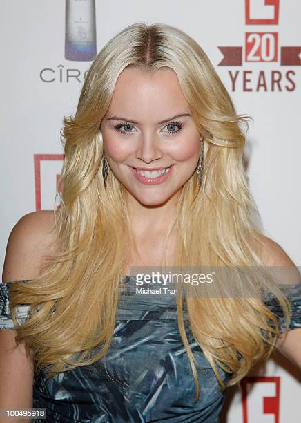 Helena Mattsson arrives to E 20th Birthday Celebration held at The London Hotel on May 24 2010 in West Hollywood California