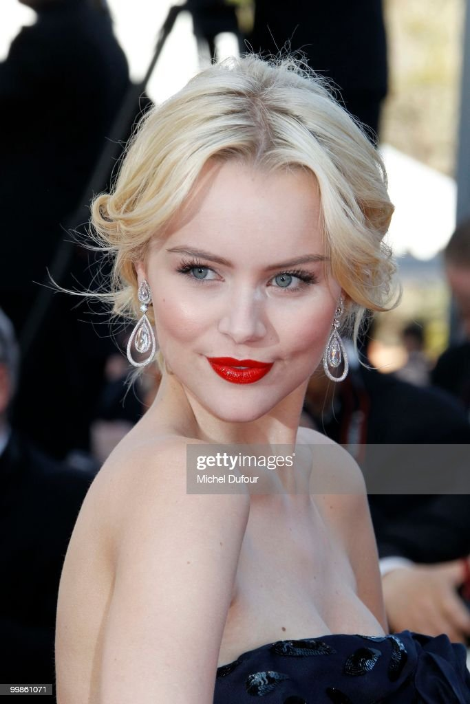 Helena Mattsson attends 'Biutiful' Premiere at the Palais des Festivals during the 63rd Annual Cannes Film Festival on May 17, 2010 in Cannes, France.