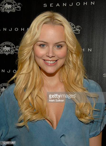 Helena Mattsson attends Sean John Shop Future pop up shop on June 5 2010 in Los Angeles California
