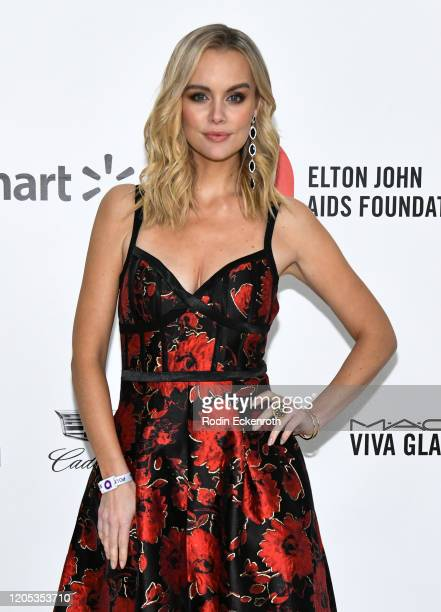 Helena Mattsson attends the 28th Annual Elton John AIDS Foundation Academy Awards Viewing Party Sponsored By IMDb And Neuro Drinks on February 09,...