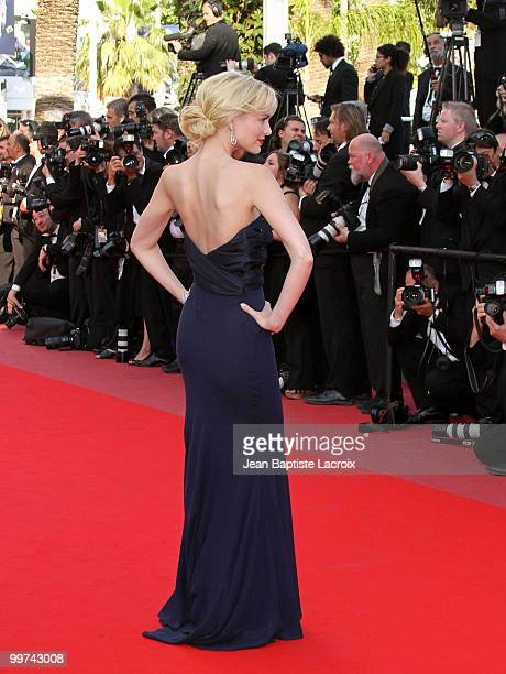 Helena Mattsson attends the premiere of 'Biutiful' held at the Palais des Festivals during the 63rd Annual International Cannes Film Festival on May...