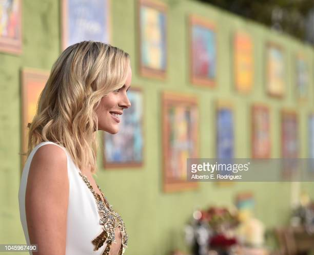 Helena Mattsson attends the premiere of HBO Films' My Dinner With Herve at Paramount Studios on October 4 2018 in Hollywood California