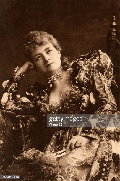 Helena Modjeska Polish actress who appeared in London 18801882 and in 1890 Here as Portia in the comedy 'The Merchant of Venice' by William...