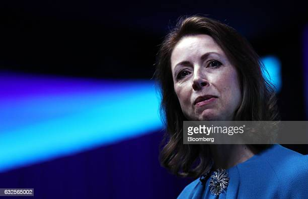 Helena Morrissey chairman of Newton Investment Management Ltd speaks during the Women In Finance Summit in London UK on Tuesday Jan 24 2017 The...