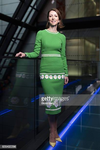 Helena Morrissey chief executive officer of Newton Capital Management Ltd poses for a photograph following a Bloomberg Television interview in London...
