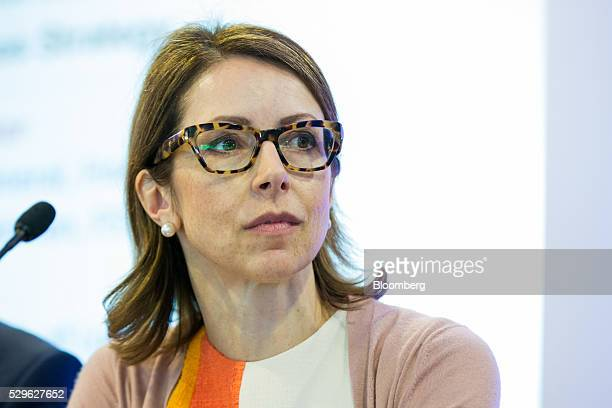 Helena Morrissey chief executive officer of Newton Capital Management Ltd listens during a panel discussion at the City Week International Financial...
