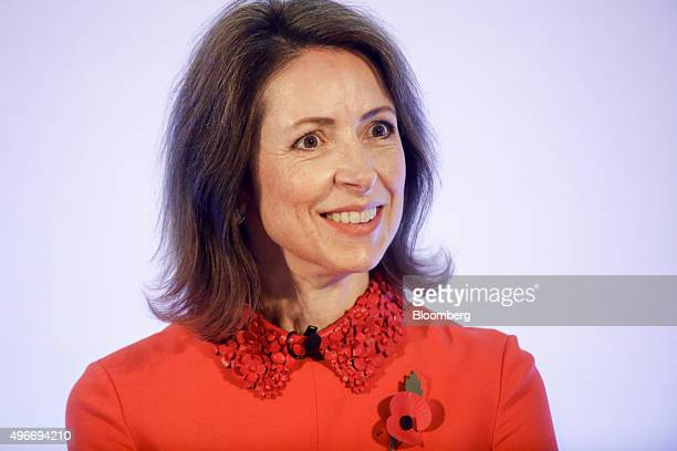 Helena Morrissey founder of the 30 Percent Club and chief executive officer of Newton Capital Management speaks at the Bank of England Open Forum at...