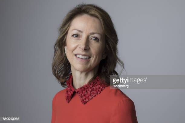 Helena Morrissey head of personal investing at Legal General Investment Management Ltd poses for photograh following a Bloomberg Television interview...