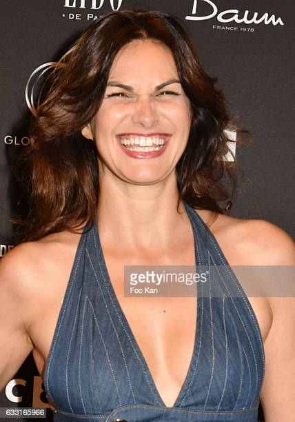 Helena Noguerra attends Les Globes de Cristal Awards 11th Ceremony at Lido on January 30 2017 in Paris France
