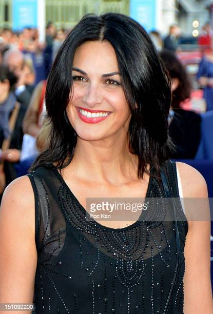 Helena Noguerra attends the 38th Deauville Film Festival Ceremony at the CID on August 31 2012 in Deauville France