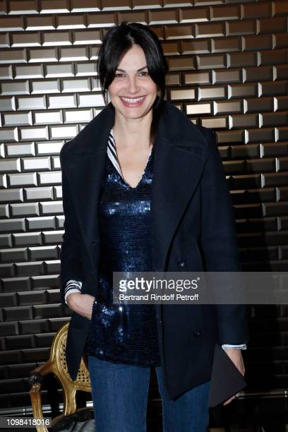 Helena Noguerra attends the JeanPaul Gaultier Haute Couture Spring Summer 2019 show as part of Paris Fashion Week on January 23 2019 in Paris France