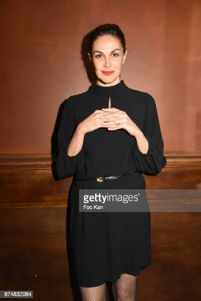 Helena Noguerra attends the Les GQ Men Of The Year Awards 2017 Photocall at Trianon on November 15 2017 in Paris France