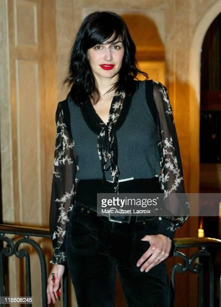Helena Noguerra during Saint Valentin Awards 2007 at Fouquet's Restaurant in Paris France