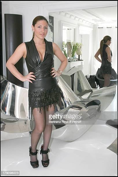 Helena Paparizou at Singer Helena Paparizou Costume Fitting