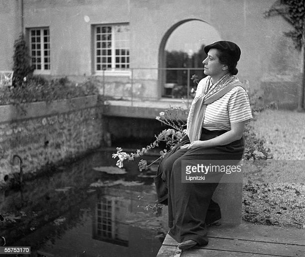 Helena Rubinstein American beautician of Polish origin September 1934 LIP10436280