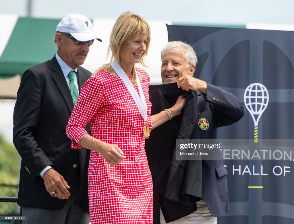 International Tennis Hall of Fame Class of 2018 Induction Ceremony : News Photo
