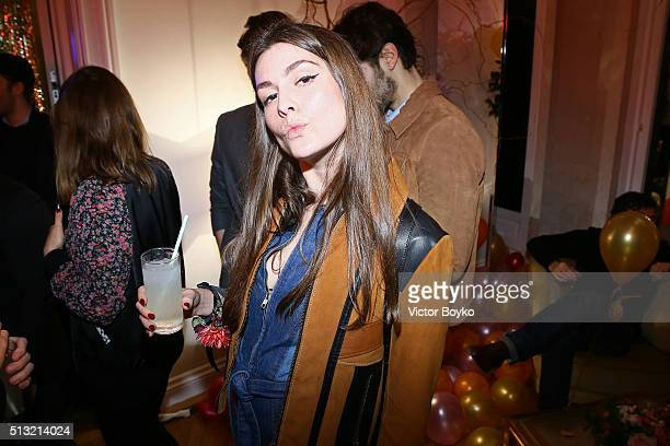 Helena Tejedor attends Prom 2016 Party hosted by Coach for the Paris Flagship opening as part of the Paris Fashion Week Womenswear Fall/Winter...