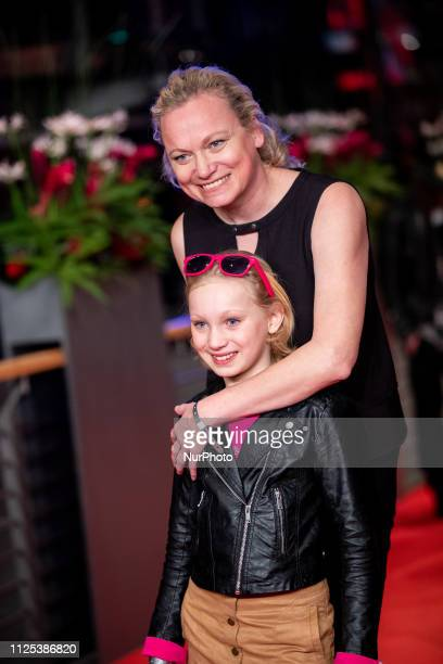 Helena Zengel arrives for the closing ceremony of the 69th Berlinale International Film Festival Berlin at Berlinale Palace on February 16 2019 in...