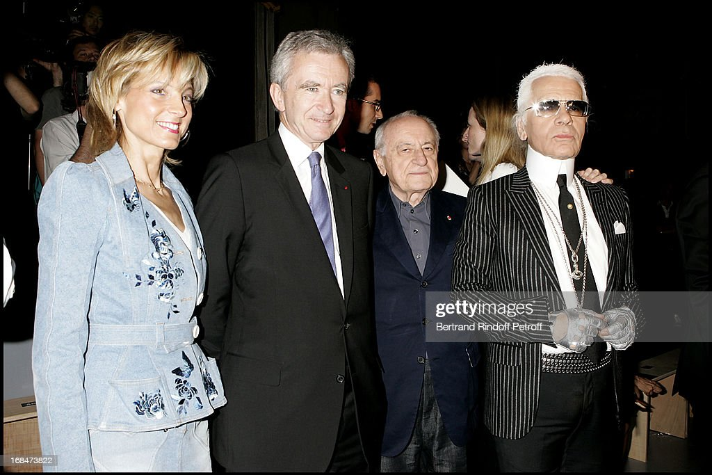 Christian Dior Men's Fashion Show - Spring/Summer 2006 And Stylist Hedi Sliman's Birthday Celebration At The Tryptique In Paris : News Photo