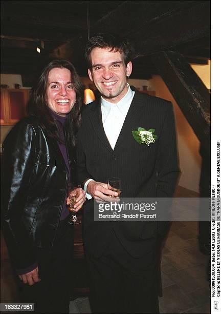 "Helene and Nicolas the wedding of ""Nana Mouskouri"" in Geneva."