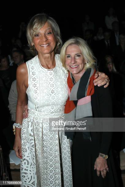 Helene Arnault and Ambassador of USA to Paris Jamie McCourt attend the Christian Dior Womenswear Spring/Summer 2020 show as part of Paris Fashion...