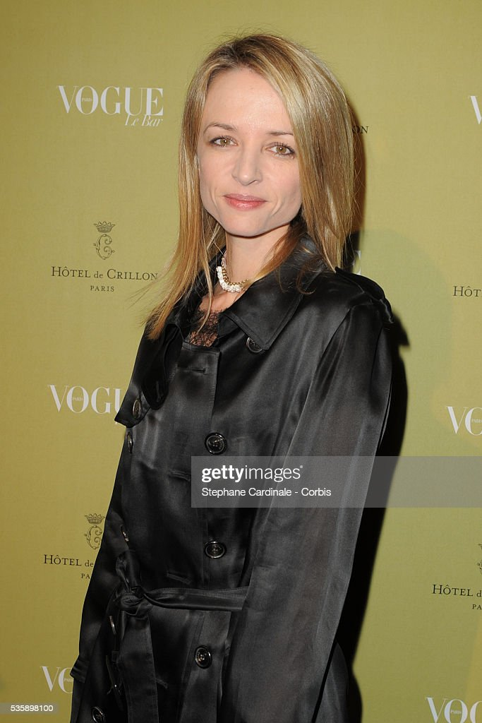 Helene Arnault attends Vogue Party at Hotel De Crillon in Paris