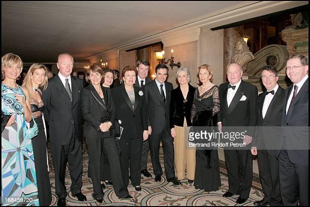 Helene Arnault, Valerie, Brice Hortefeux, Christine Albanel, Madame Xavier Darcos, Roselyne Bachelot Narquin, Xavier Darcos, Francois Fillon and...