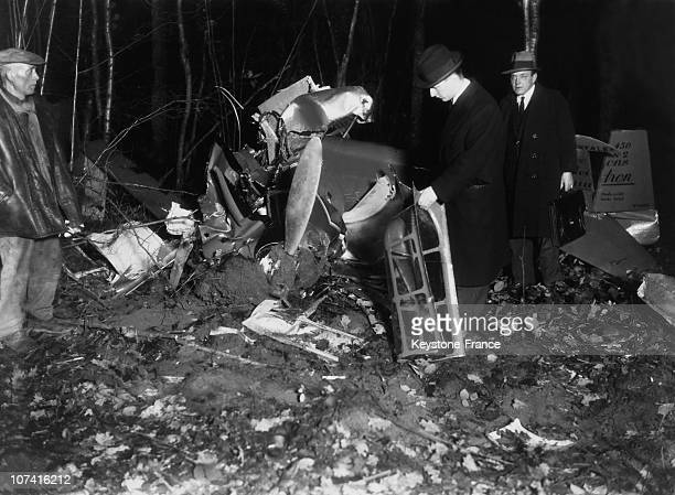 Helene Boucher Killed In A Training Flight In France On December 1934