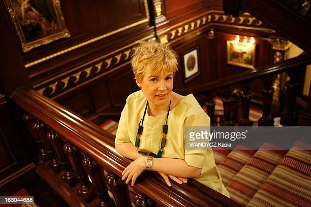 Helene Darroze, A French Chef In London. Hélène DARROZE, chef cuisinier français aux commandes depuis avril 2008 de la restauration du palace...