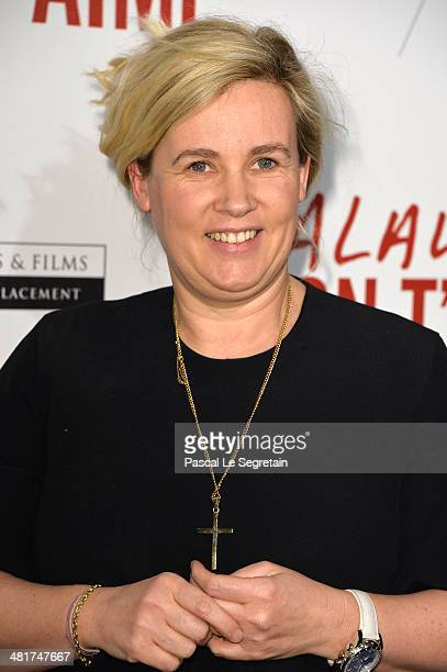 Helene Darroze attends 'Salaud On T'Aime' Paris Premiere at Cinema UGC Normandie on March 31 2014 in Paris France