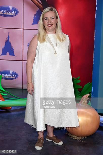 Helene Darroze attends the launch of 'RatatouilleThe Adventure' at Disneyland Resort Paris on June 21 2014 in Paris France