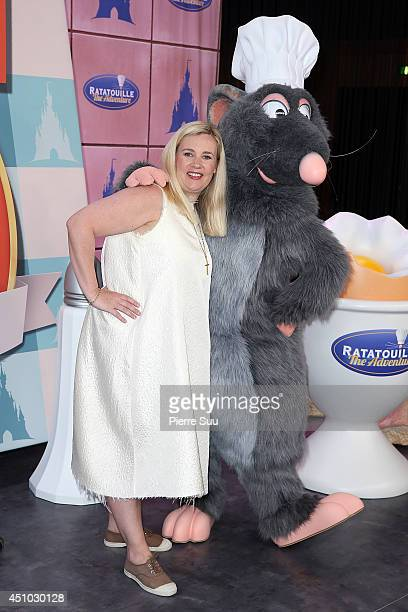 Helene Darroze attends the launch of 'RatatouilleThe Adventure' at Disneyland Resort Paris on June 21 2014 in Paris France
